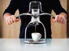 手动咖啡机考验你的臂力