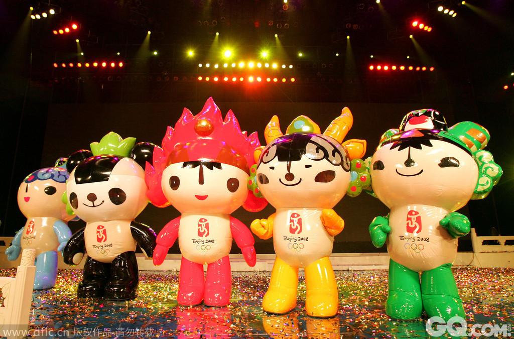2008年北京奥运会吉祥物福娃图片