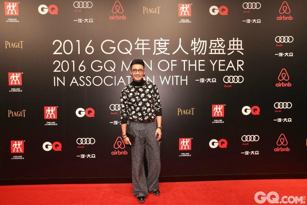 胡兵出席2016GQ年度人物盛典。