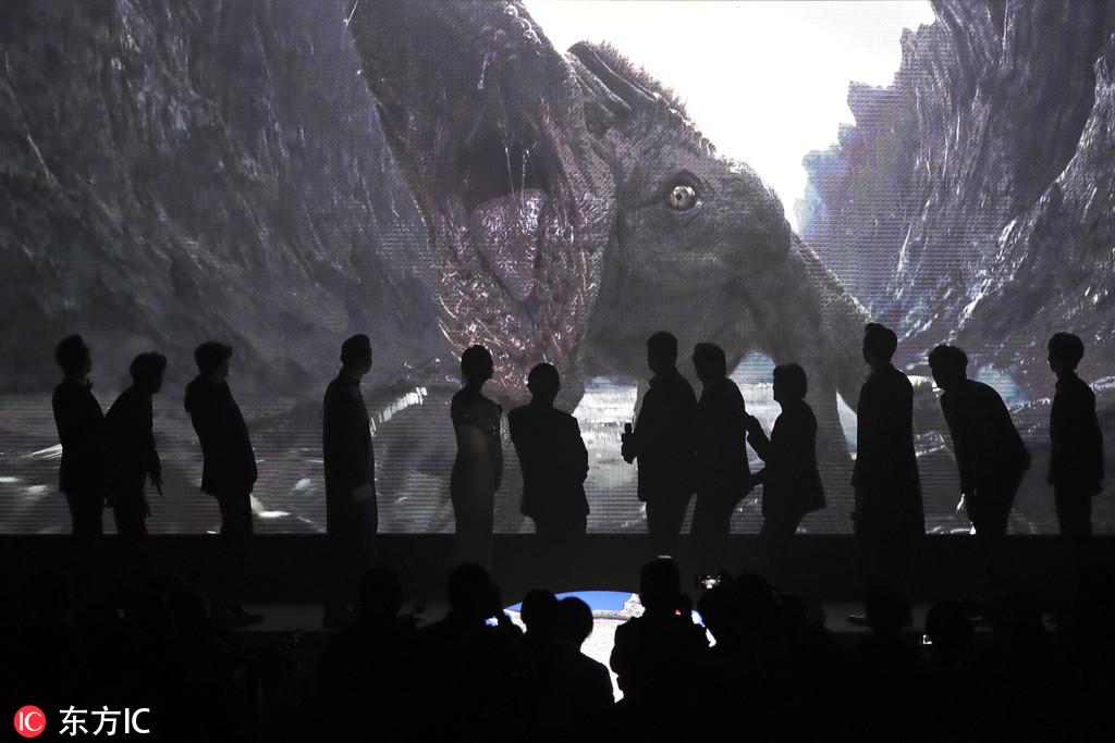 2016年12月6日,北京,张艺谋新片《长城》举行首映礼。