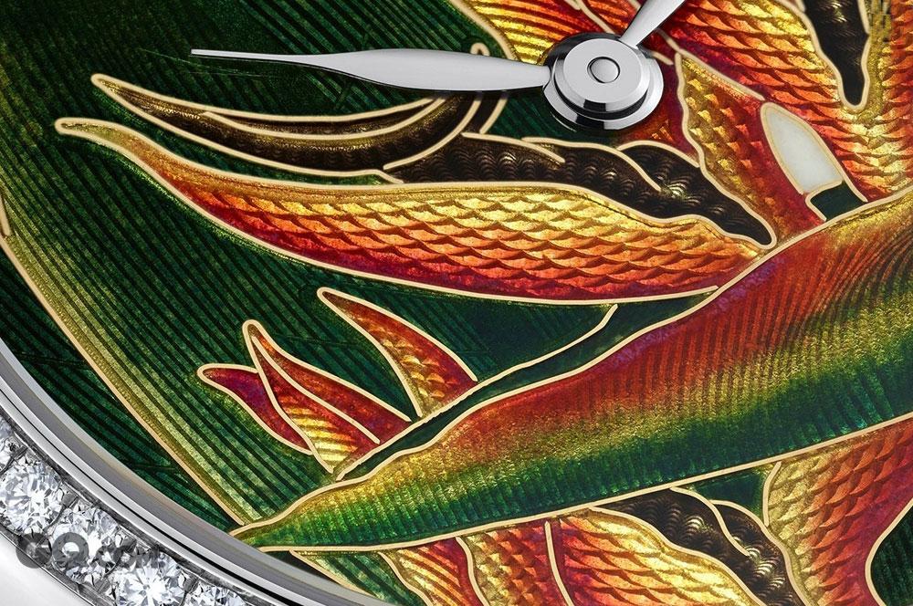珐琅的工艺现在可以概括为:微绘珐琅、掐丝珐琅和内填珐琅。