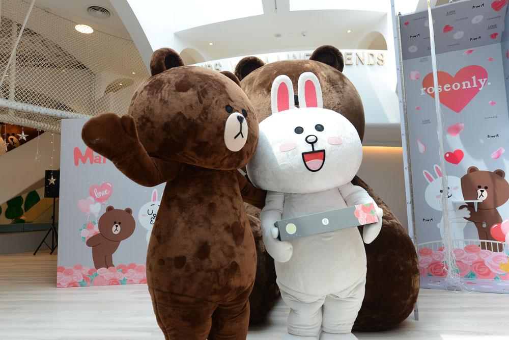 roseonly 布朗熊向可妮兔求婚的神助攻