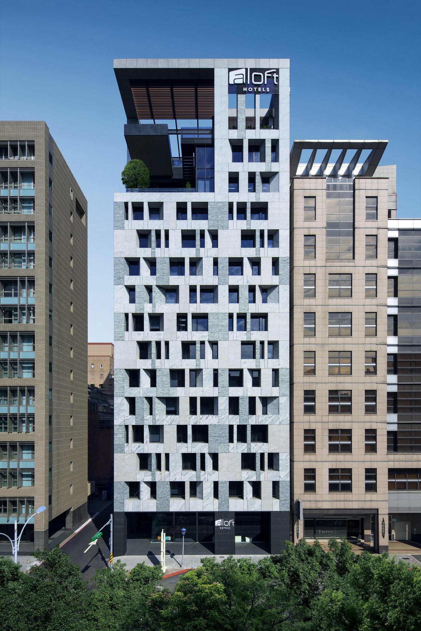 台北中山雅乐轩酒店外观与公共空间设计出自于李天铎鬼才设计师之手
