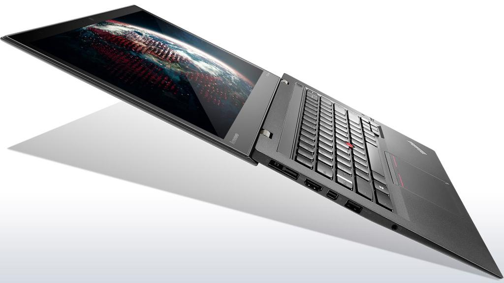 NO.3联想ThinkPad X1 Carbon 从第一代到现在的第五代,ThinkPad系列也走过了5年的时间,对于这款商务本,联想还是很重视的。ThinkPad X1 Carbon是一款14英寸的笔记本,主要特点是轻薄耐用,有很多接口。续航能力达到8小时,相比前几代进步了不少。最低售价为1329美元。