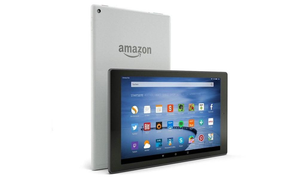 NO.5 拥有10.1英寸巨大屏幕的Amazon Fire HD 10,无疑是家族产品的巨无霸,除了更加高清的摄像头,还有64GB的内部存储空间。