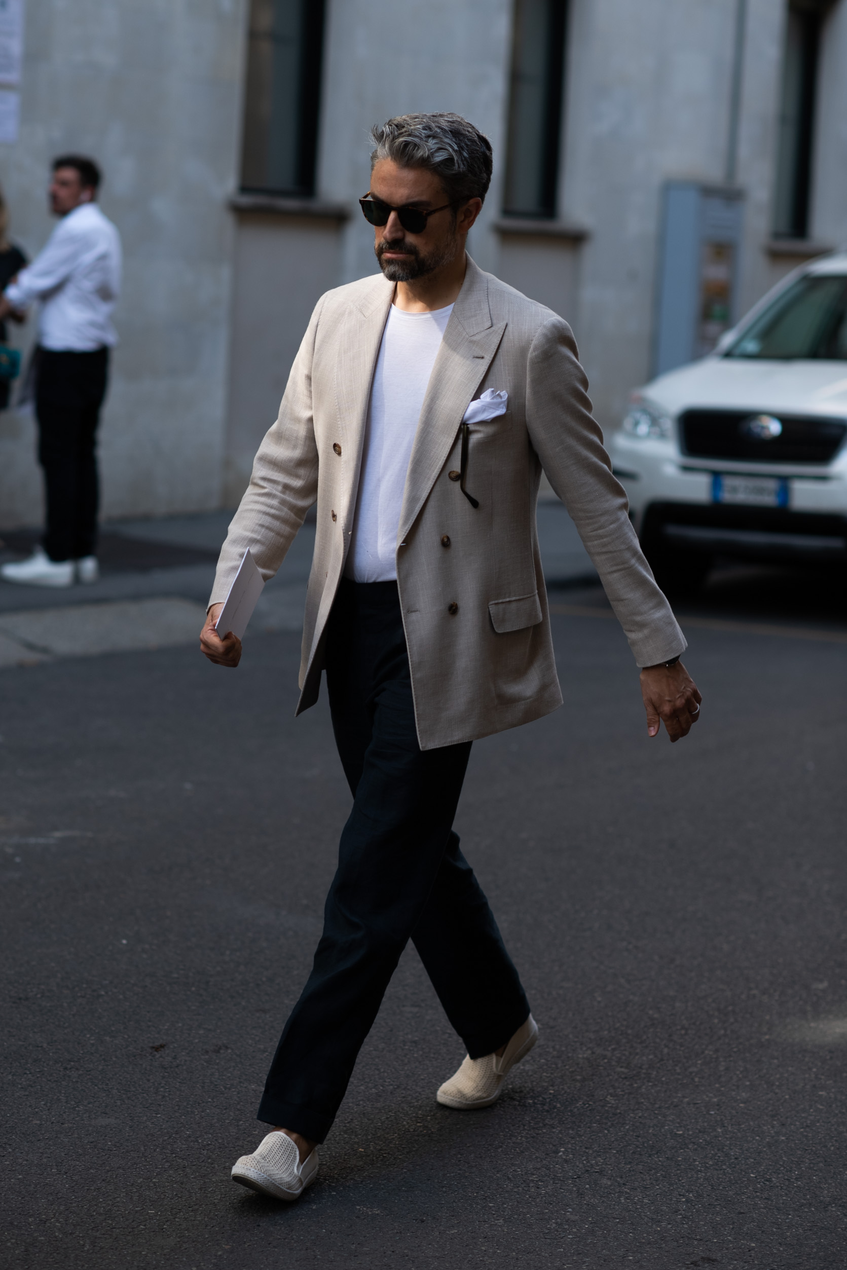 2019年6月米兰男装周街拍DAY3