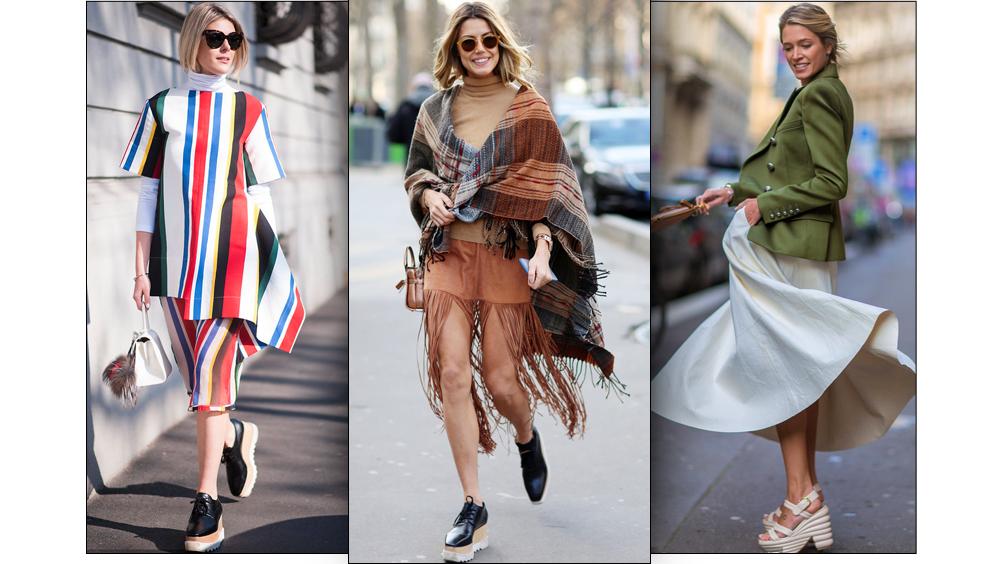 """时尚为厚底鞋""""平反""""像她们一样舒舒服服变高"""