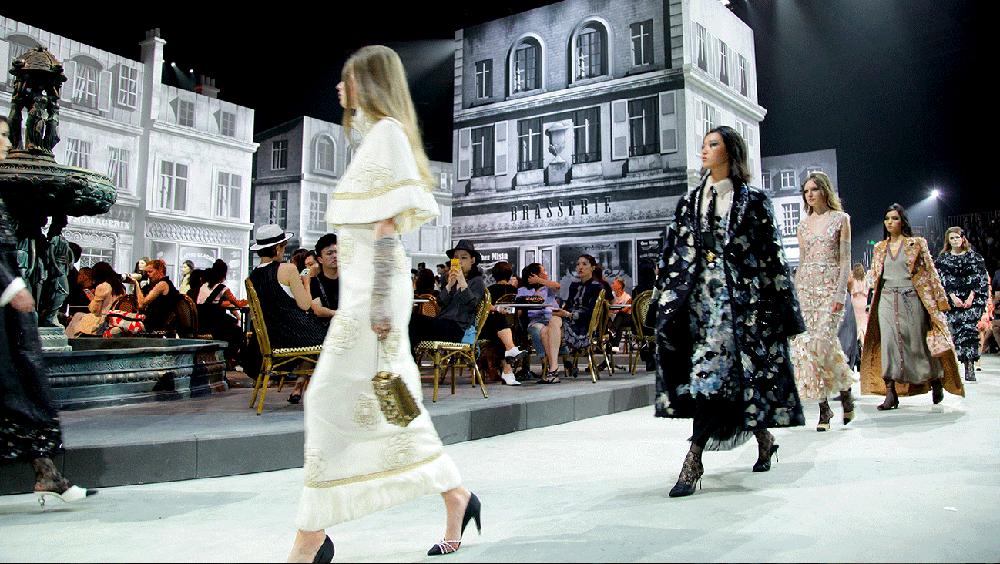 """2016 Chanel""""巴黎在罗马""""高级手工坊系列"""