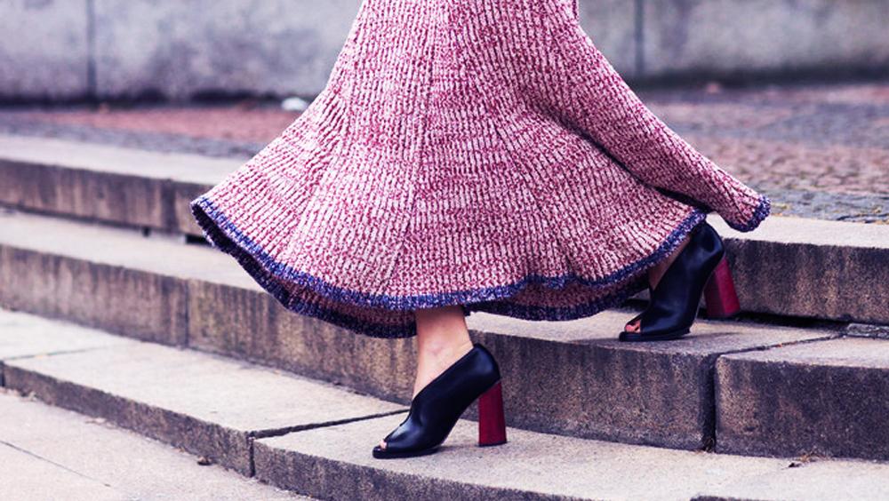 我们都爱毛线裙,但你知道什么长度的裙子最适合你吗?