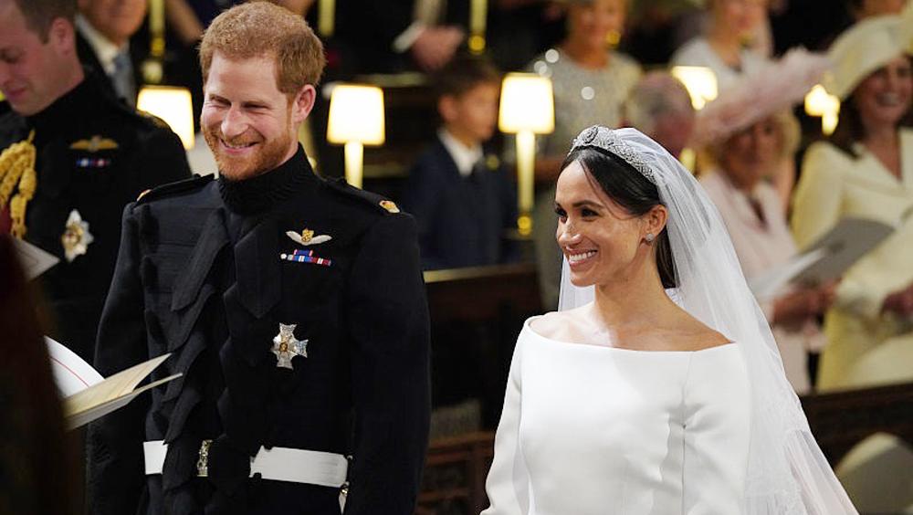 哈里王子结婚了 比皇室婚礼更美的是他们的爱情
