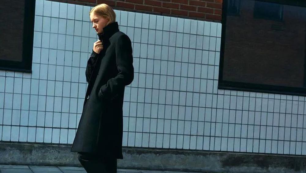 """我是小个子,这样穿大衣""""长高""""了10CM"""