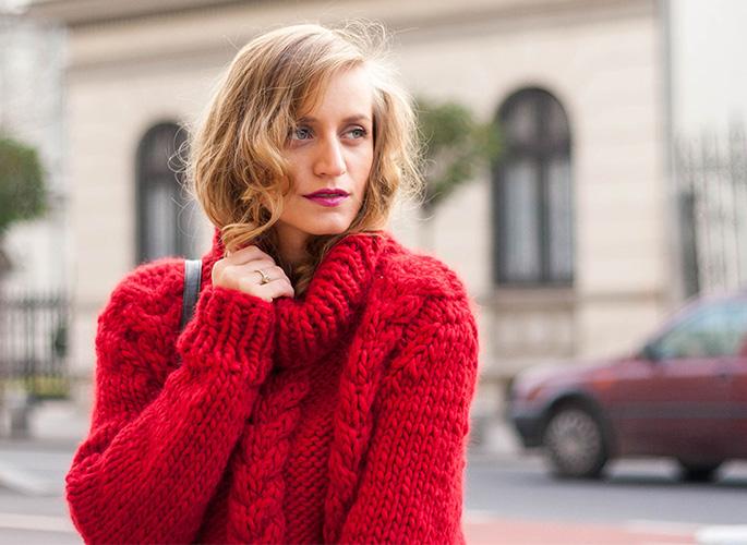 一件针织衫 裹起秋冬的时髦与温暖