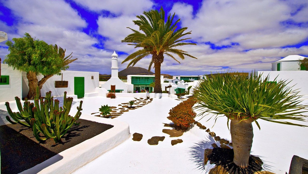 西班牙加那利群岛 三毛远在欧洲的家