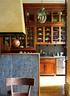 厨房岛台的石面上可以像黑板一样写字,比如今日菜谱、野餐计划,抑或是……我爱你!厨房内超大的壁橱少不了,收藏瓷器是Kathryn的爱好之一。岛台上的黑板实用又有趣。