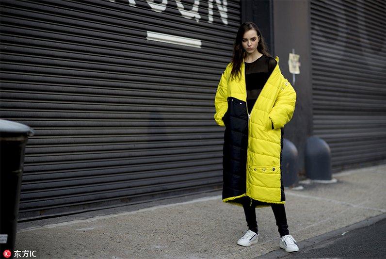 2018秋冬紐約時裝周街拍Day7