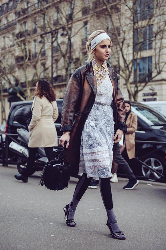 2018秋冬巴黎时装周街拍 Day8