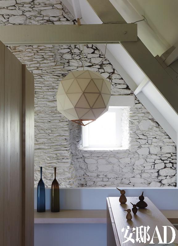贴墙壁手工制作房子