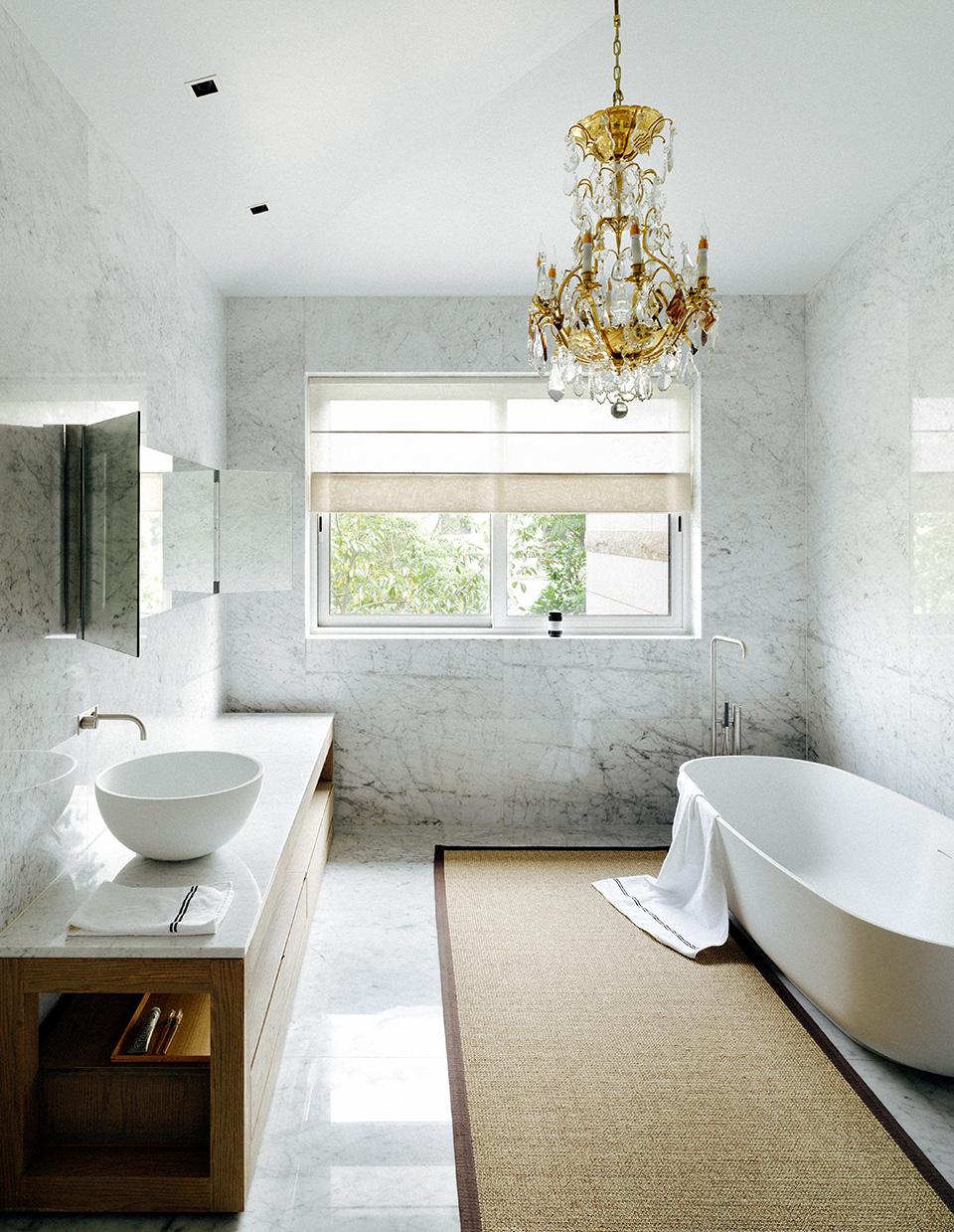 宽敞卫浴空间是疗愈一天疲惫的最好礼物。