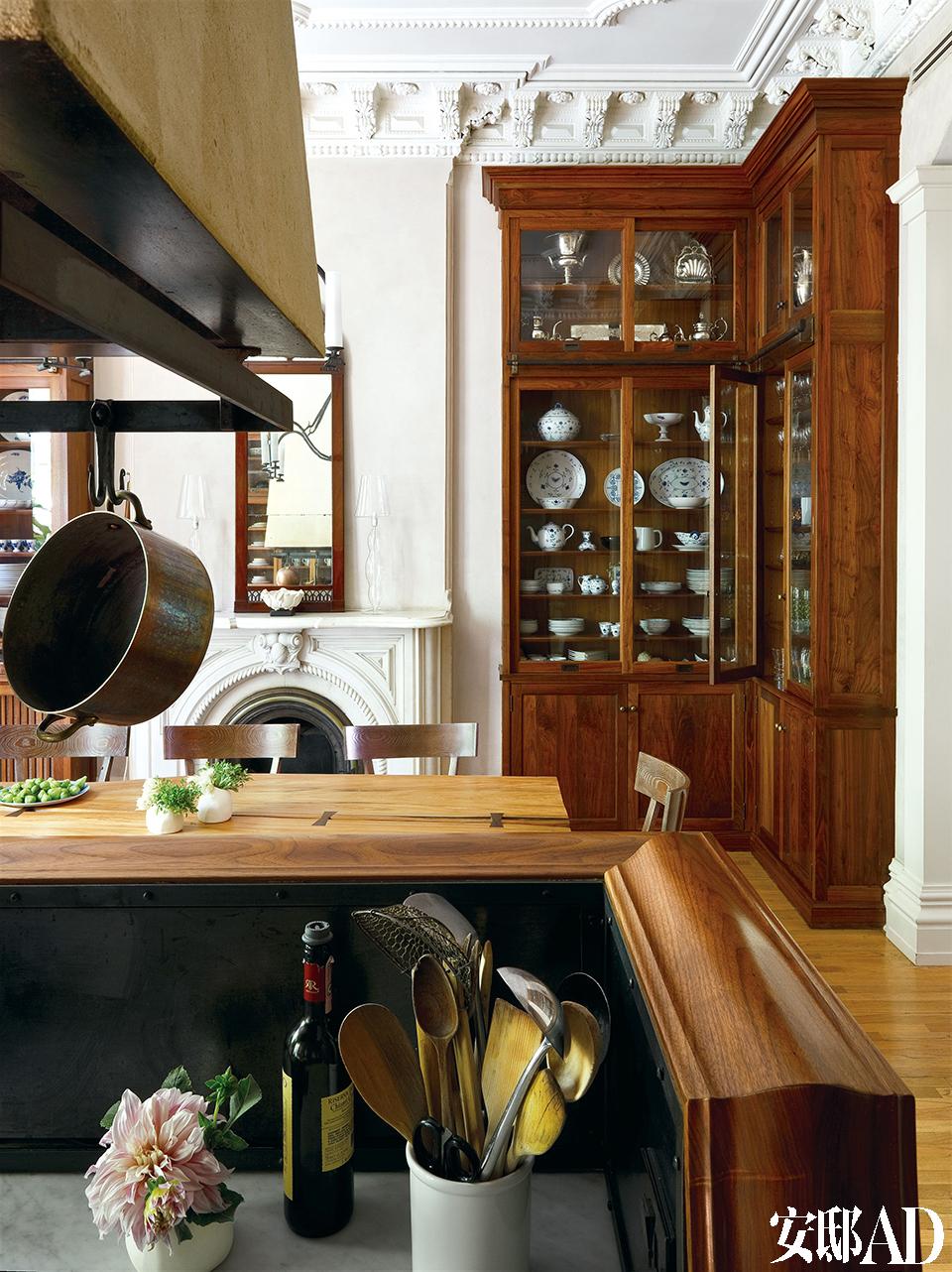 厨房一角。