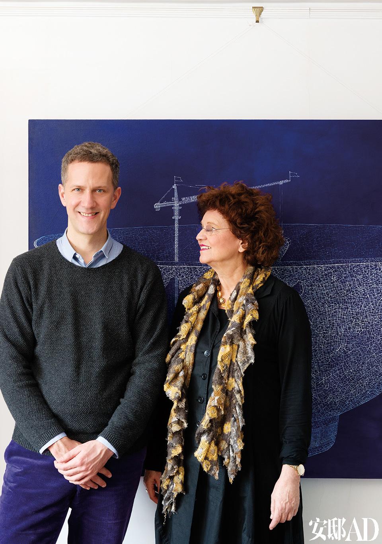 主人: 岳慕礼(Marlis Rötting)夫人和儿子岳达(Daniel Rötting)