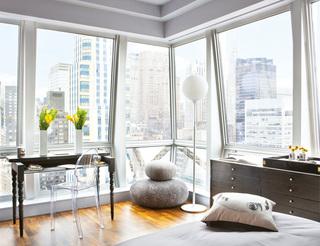 花艺师陈大齐的纽约公寓,时尚清新能量场
