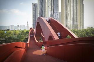 中国结步行桥 LUCKY KNOT bridge