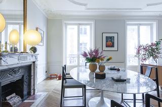 她在巴黎市中心有个新家,东情西韵美妙无边
