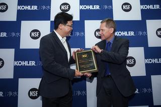 科勒净水荣获NSF 认证 提供健康用水保障——2018上海国际厨卫展科勒净水尽显实力