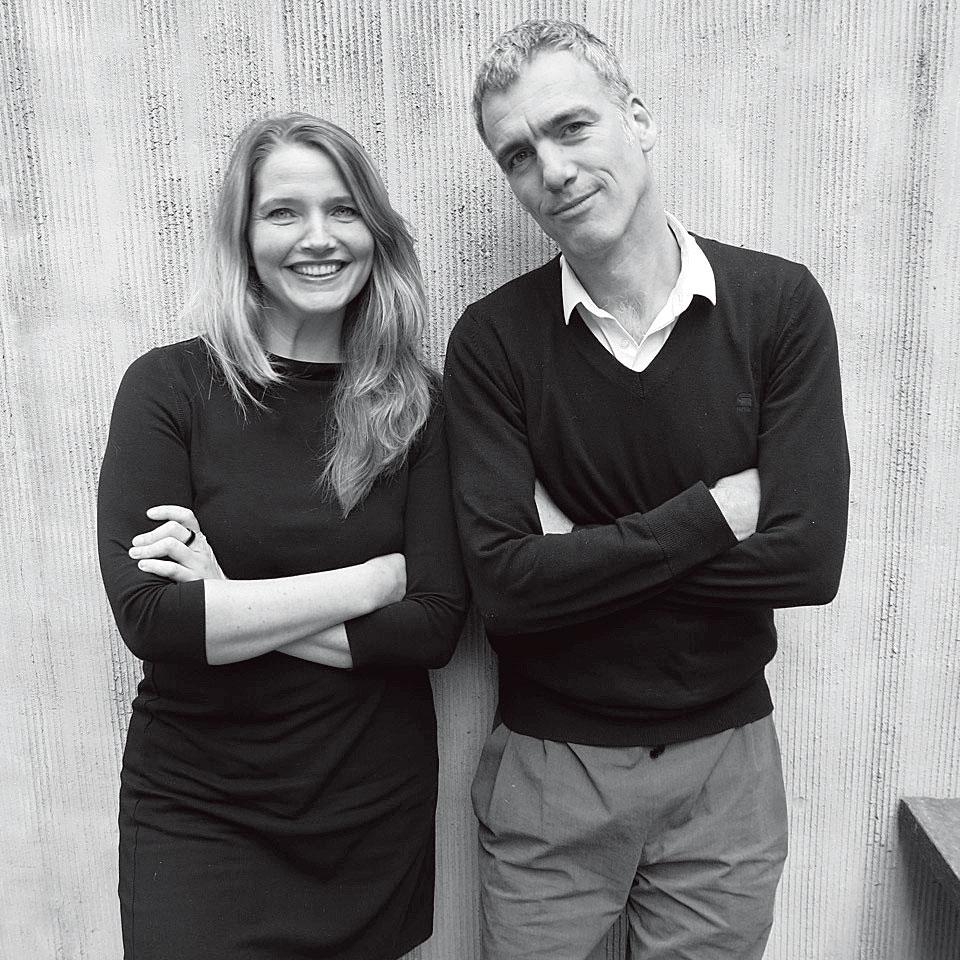 Wendy Sunders(左) Vincent de Graaf(右)