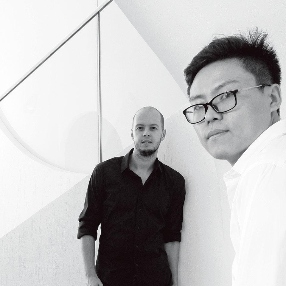 ChrisPrecht(左) 孙大勇(右)