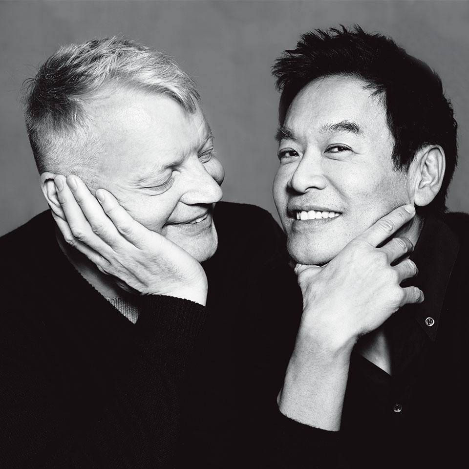 Glenn Pushelberg(左) George Yabu(右)