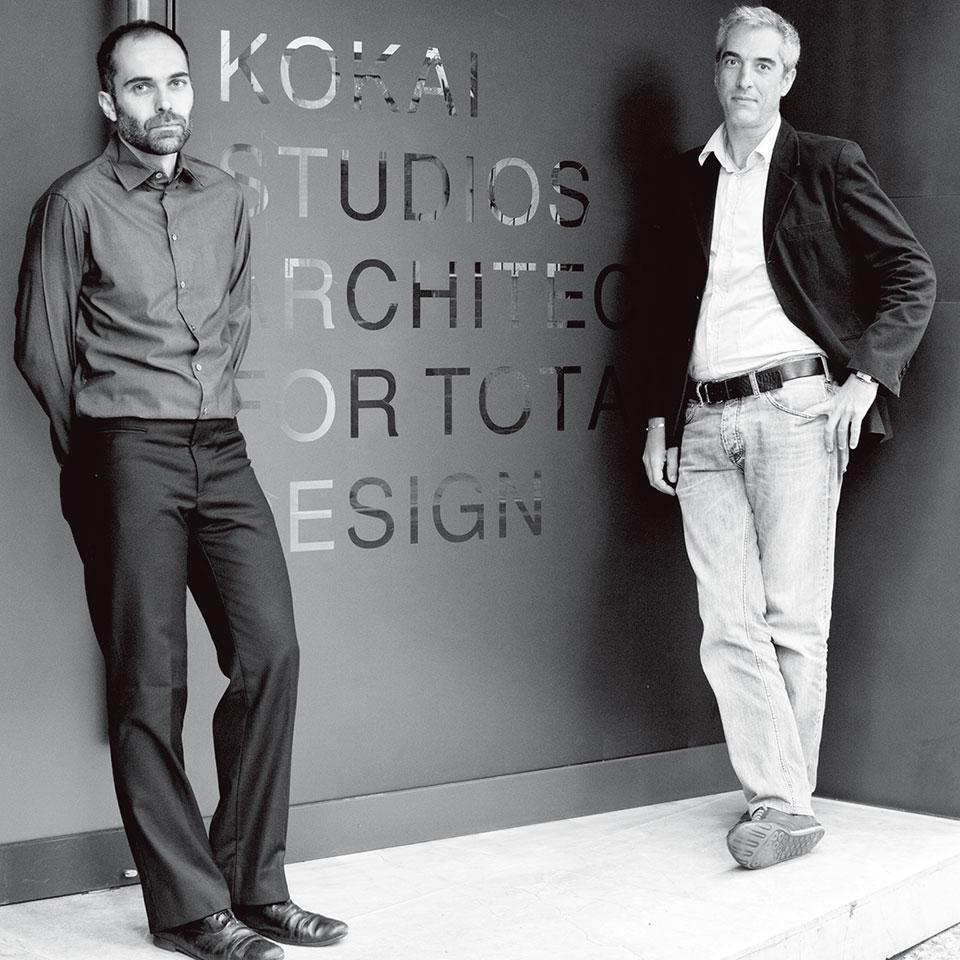Andrea Destefanis(左) Filippo Gabbiani(右)