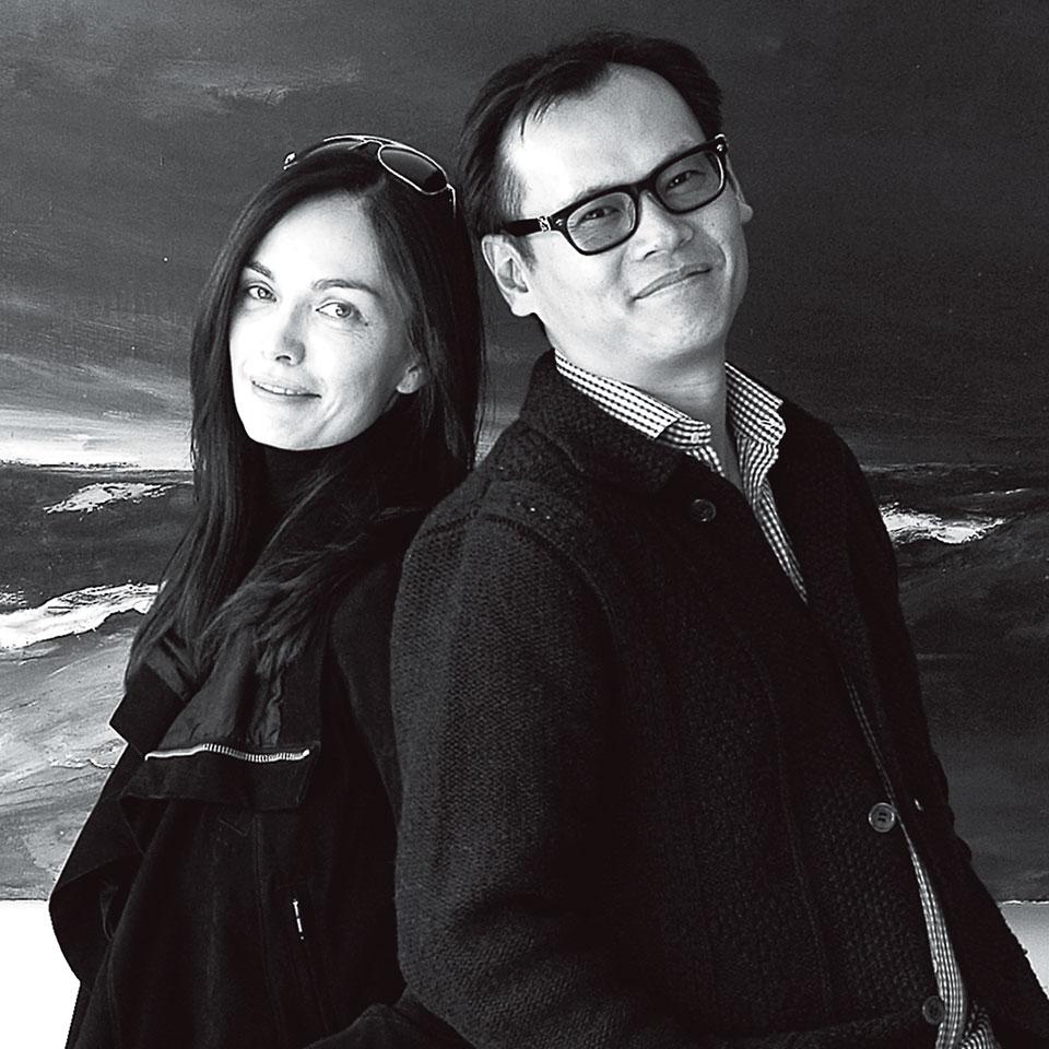 Hannah Lee(左) Clarence Chiang(右)