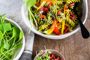 鲜蔬枸杞意粉沙拉