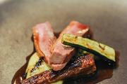 茄子煎鸭肉