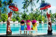 巴厘岛是印度尼西亚著名的旅游圣地,是印尼17654个岛屿中一颗耀眼的明珠,面积约5630多平方公里。