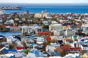 """冰岛是世界上温泉最多的国家,被称为""""冰火之国"""",雷克雅未克位于冰岛西部法赫萨湾东南角,是冰岛最大的..."""