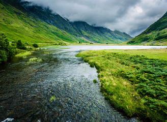 苏格兰高地壮美如史诗