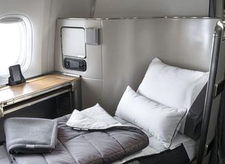 美国航空携手Casper公司推出机上寝具套装 营造美好梦境