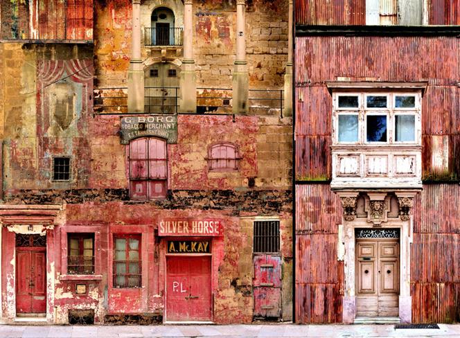 考古学家拍摄各地城市废墟 脑洞大开拼出奇幻城堡