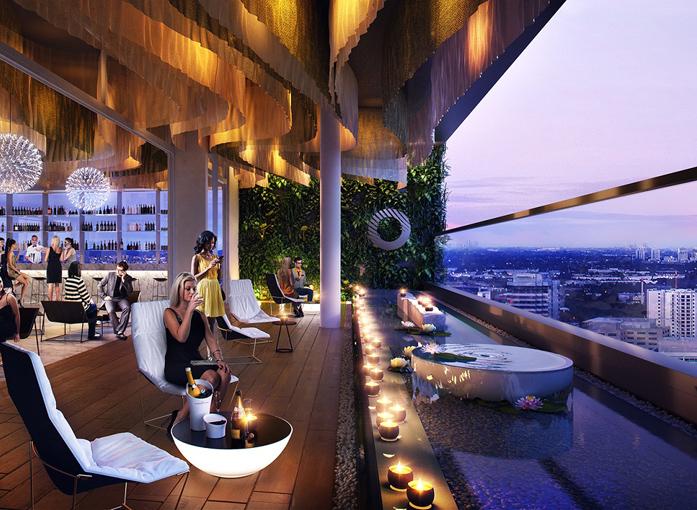 悉尼全新五星级酒店Skye Hotel Suites正式开业