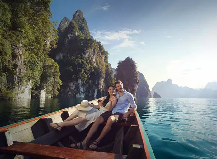 在泰国,完成一生一次的浪漫与蜜月之旅