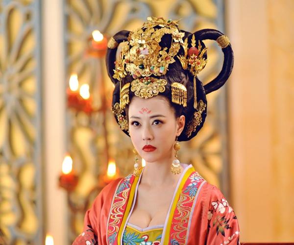 40张 武媚娘 绝美妆容造型图 彩妆