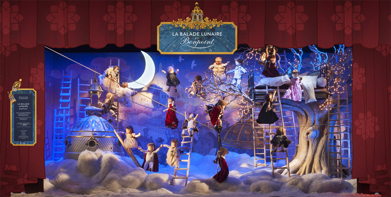 【图】法国春天百货printemps圣诞橱窗揭幕_品牌新闻