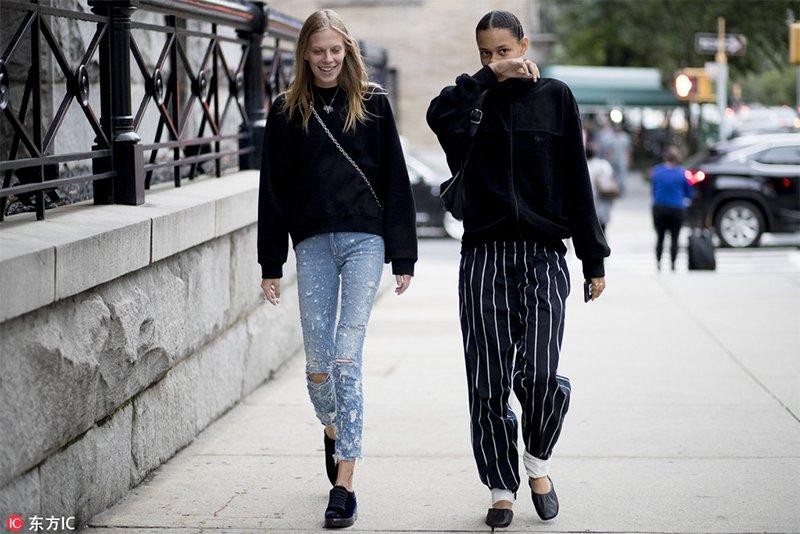 2018春夏纽约时装周街拍 Day1