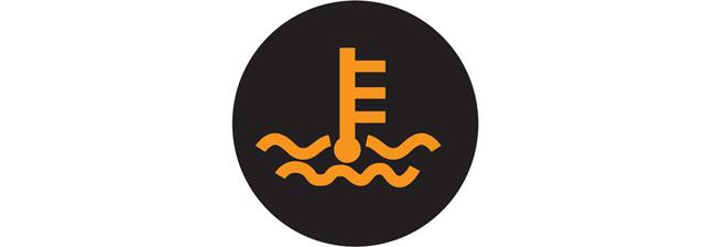 水温指示灯