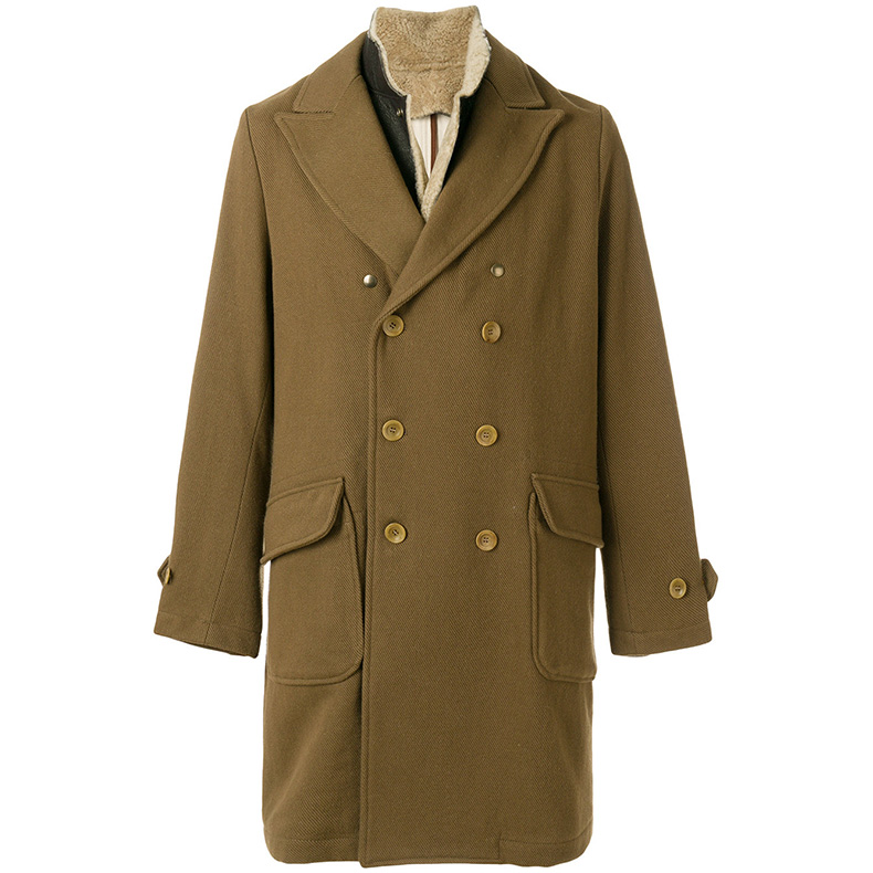 有了这件毛皮大衣,再冷的天也不算什么