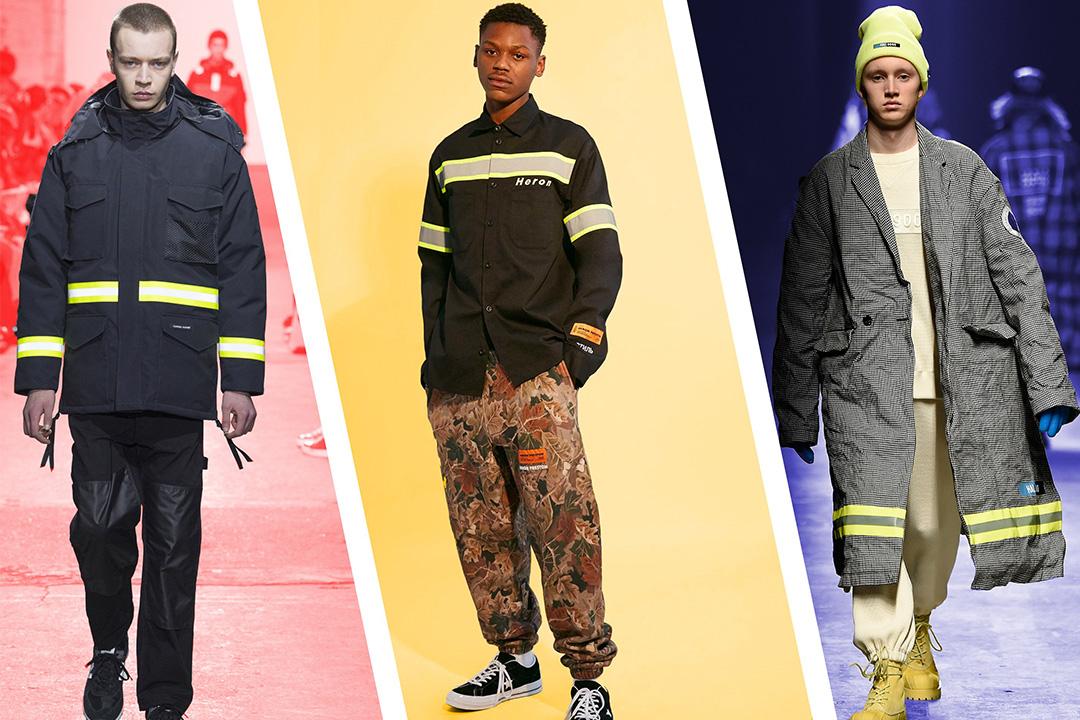 消防夹克才是当下最火的男装潮流