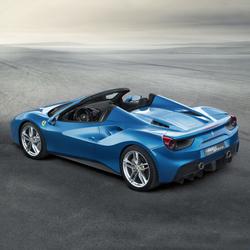 法拉利全新敞篷跑车488 Spider于法兰克福车展全球首发