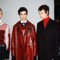 2016巴黎秋冬男装周Dior Homme秀场后台